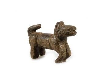 Small Old Naive Dogon Wood Figure Statuette of a Horse, Mali