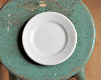 vintage ironstone saucer