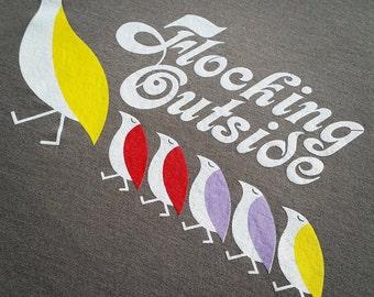 Phish Birds of a Feather lyric tee shirt - Trey, Grateful Dead, hippie, 420, lsd, lot