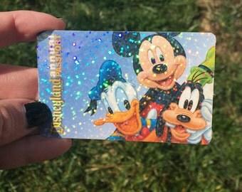 Pixie Dust Sparkle card overlay, Glitter Disney Pass, Hologram overlay, Hologram glitter, Badge overlay, Universal Studios pas
