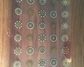 Vintage Atomic Serving Platter