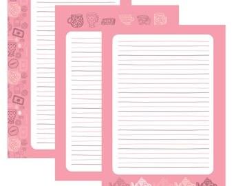 Tea | Stationery printable | ankepanke