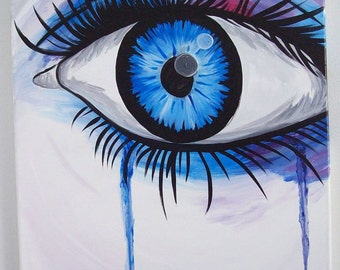 The Eyes are the Window to the Soul Blue