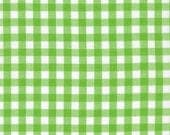 Lime Green 1/4 Inch Gingham from Robert Kaufman's Carolina Gingham Collection