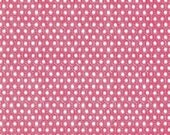 SHOP CLOSING SALE Michael Miller fabric for quilt or craft Sun Tiles in Lipstick Half Yard