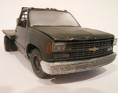 Chevy Truck with flatbed,Classicwrecks,Wrecker,Junker,Scale Model
