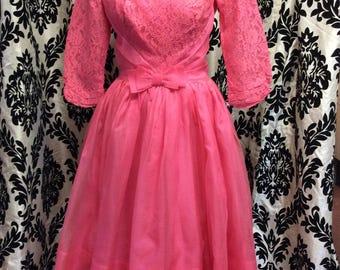 Bubblegum Pink Prom/Party Dress