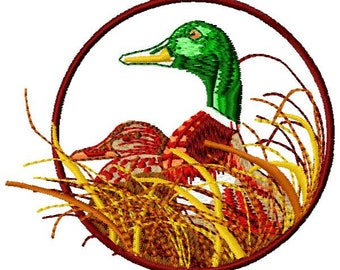 Ducks Embroidery Design - Instant Download