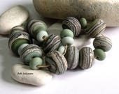 Celtic Meadow Mix, Lampwork Beads, SRA, UK