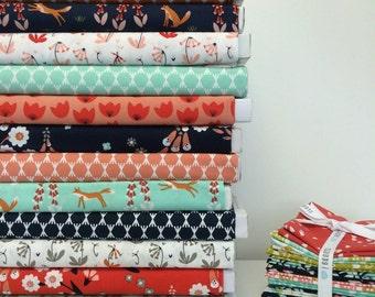 FoxGlove fabric bundle - 12 prints
