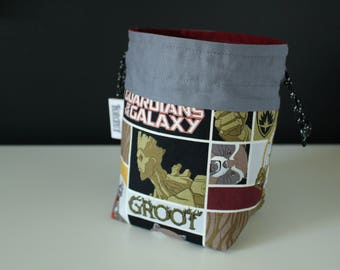 Dice Bag ~ Guardians of the Galaxy: Rocket & Groot