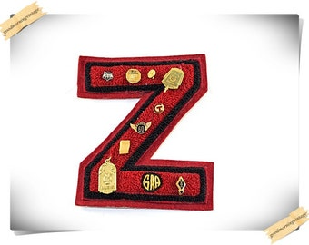 1950's Letterman Z Patch with Pins