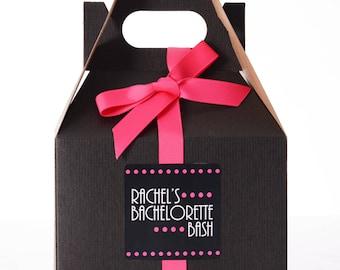 5 Bachelorette Survival Kit Box - Bachelorette Party Box - Bachelorette Party Favor Boxes