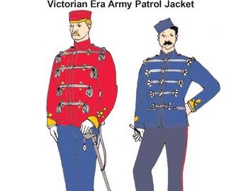 RH956 – Victorian Era Army Patrol Jacket (undress)