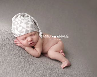 baby shower gift - coming home outfit - knot hat - hospital hat - hospital hats for boys - newborn knot hat - baby boy hat