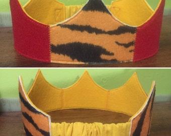 Tiger Ruby Crown