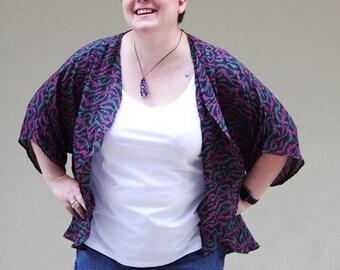 Kimono PDF Sewing Pattern - Oversize - The Venus Kimono Oversize and Plus size Pattern