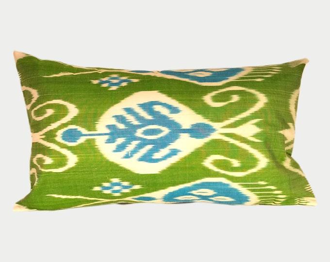 Ikat Pillow, Ikat Pillow Cover a406L, Ikat throw pillows, Designer pillows, Decorative pillows, Accent pillows