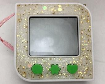 Cute Kawaii Gold Glitter Tamagezi Faceplate