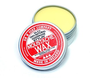 Moustache Wax, All Natural Beard Care Products, Handmade in Ireland