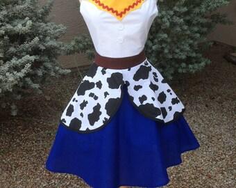 Jesse costume apron dress