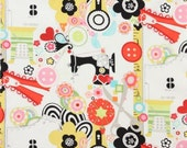 Sewing Fabric, Sew Now Sew Wow by Alexander Henry, Ruler Fabric, Fashion Fabric, 01081A