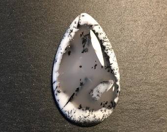 AAA quality Dendritic Agate - flat back cabochon - for making jewelry - FabbyDabby Stones Item #17-010315