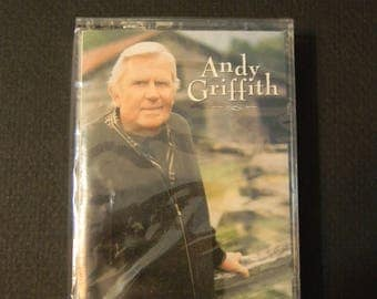 Unopened Vintage cassette, Andy Griffith I Love to Tell the Story, 25 Timeless Hymns