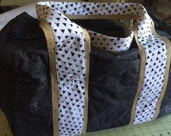 Black Travel Duffel Bag, luggage, carry on luggage