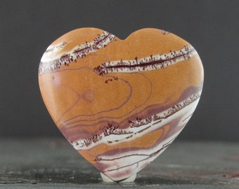 Sonoran Jasper cabochon, Natural stone, Valentine, Jewelry making supplies S7469