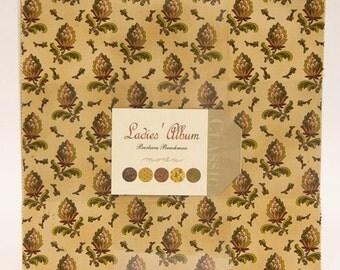 SALE Ladies' Album Layer Cake by Barbara Brackman for Moda - One Layer Cake - OOAK - 8280LC