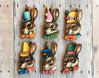 Bunny Pin Rabbit Brooch Bun Jewelry Easter Basket Gift Friendship Pins