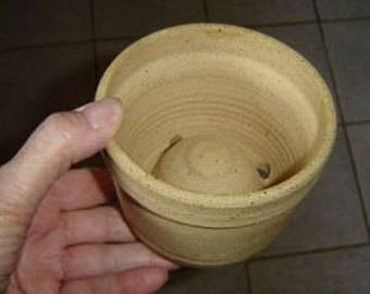 Warm Pot for paphs, phals or oncidium orchids - 6.25 x 6.5 inches