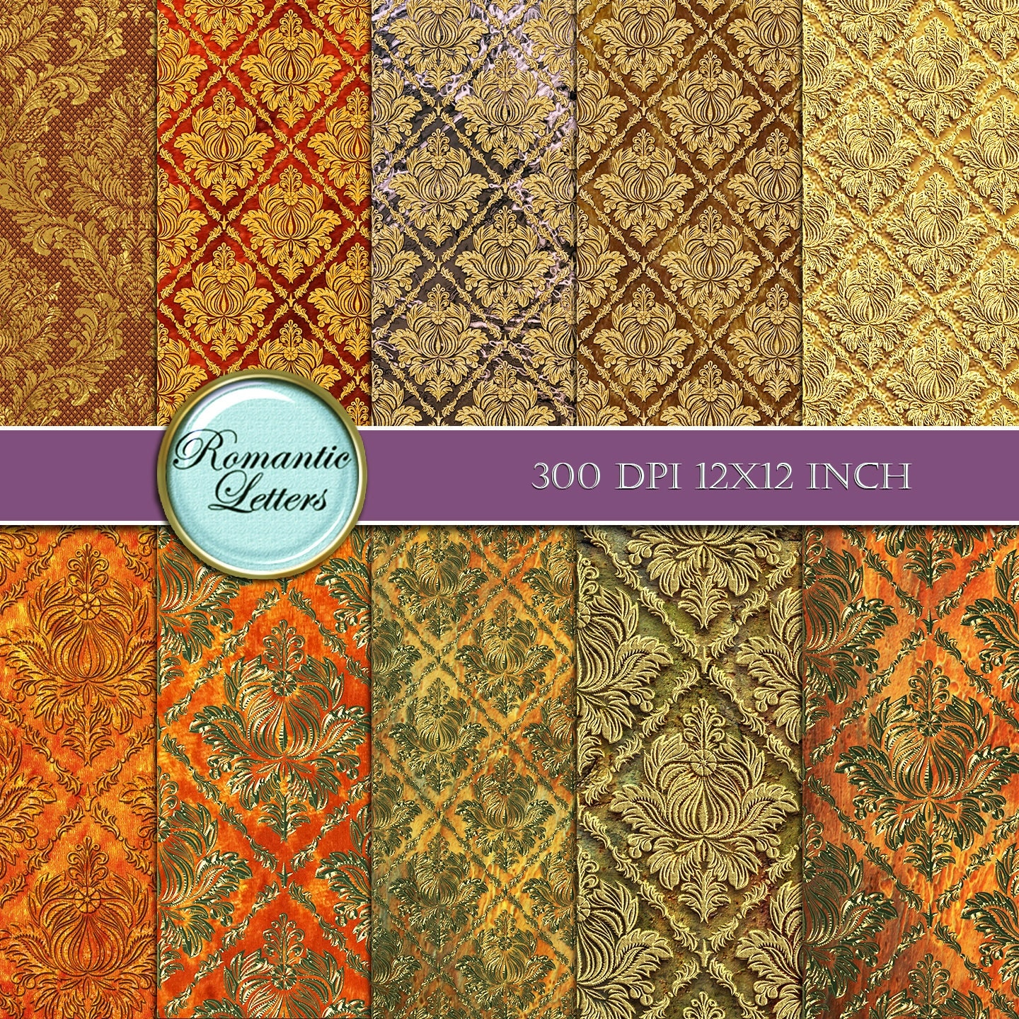 Scrapbook paper as wallpaper - Sold By Romanticletters