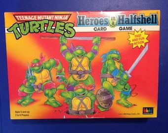 Heroes in a Half Shell Card Game TMNT Teenage Mutant Ninja Turtles