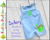 Zachary Boys Sewing Pattern, Baby Sewing Pattern, Long-Short Boys Romper Pattern, Jon Jon pdf Pattern, Baby Pants Pattern, Baby Romper