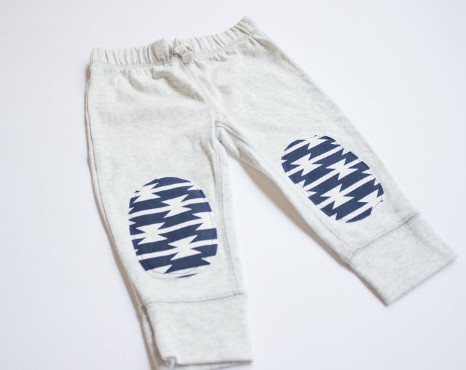 "Swanky Shank Gender Neutral ""Navy Tomahawk"" Baby Joggers"