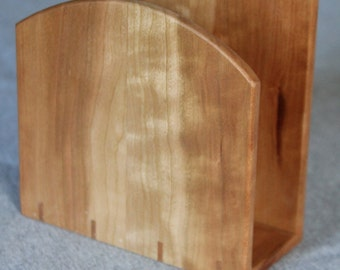 Napkin Holder Handmade out of Cherry - Free Shipping to USA