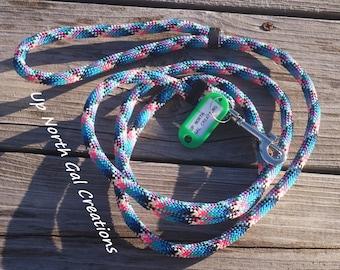 Diamond Braid Dog Leash, Polypropylene Pet Leash, Floating Pet Leash, Made In Michigan, Pink Puppy Leash, New Dog, Pet Supplies, Puppy Gift