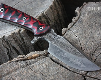 """Handcrafted FOF """"EDC II"""", survival, hunting or tactical knife"""