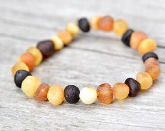 Baltic Amber bracelet for babies
