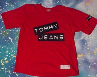 Tommy HILFIGER JEANS Men's Shirt Size L