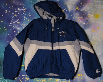 Dallas COWBOYS Football Starter Jacket Size L