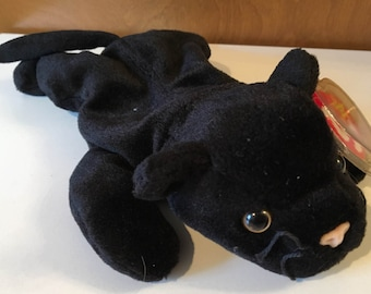 Velvet, the black panther Beanie Baby