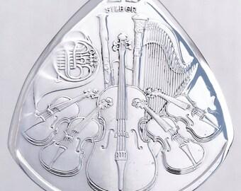 Coin Guitar Pick Austria Philharmonic 99.9% Silver 1oz