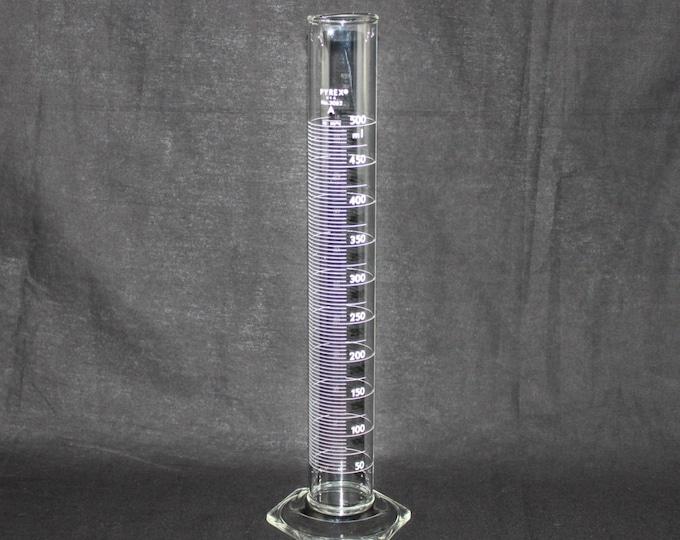 Vintage 500ml PYREX Graduated Cylinder TD (Product #3062-500mL) – Elegantly geeky