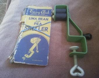 Vintage Kitchen Gadget - Lima Bean and Pea Sheller - Vintage Kitchen Decor