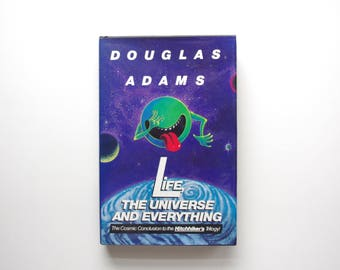Life, The Universe and Everything - Douglas Adams - First Edition Hardcover, Third Printing