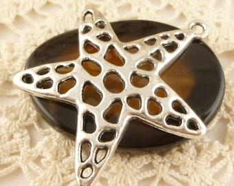 Large Unique Filigree Starfish Pendant (4)