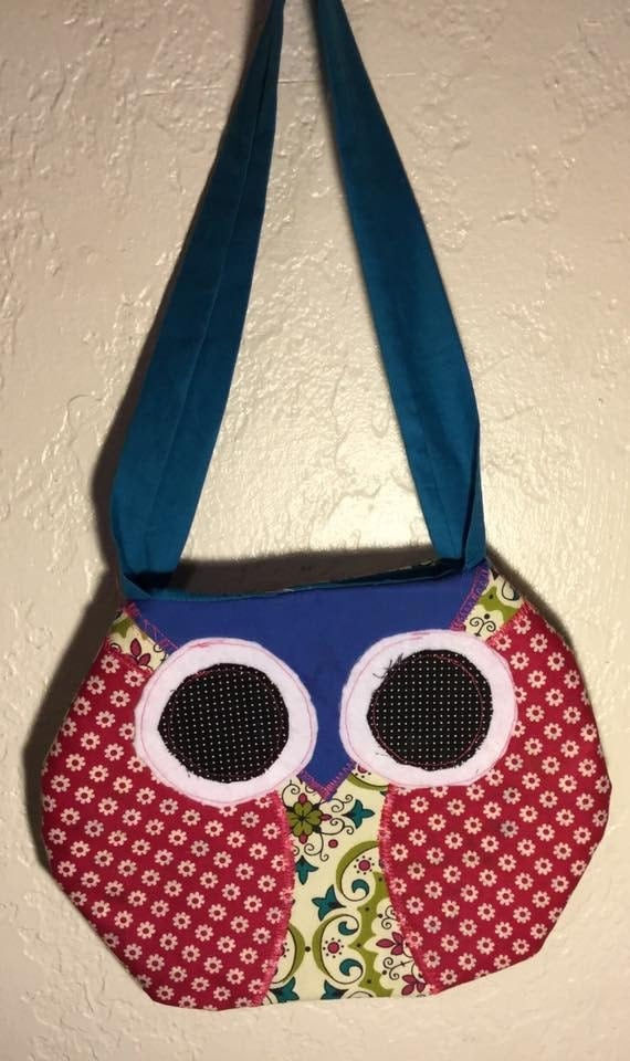 Blue Owl Purse